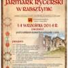 Jarmark Rycerski w Rabsztynie 2014