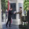 Prezydent Andrzej Duda odsłonił tablicę upamiętniającą Żołnierzy Wyklętych