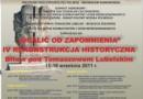 72. rocznica i rekonstrukcja bitwy pod Tomaszowem Lubelskim