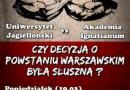 """""""Gala Boksu Intelektualnego"""" - powstanie warszawskie"""