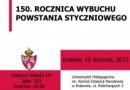"""Konferencja studencka: """"150. rocznica wybuchu powstania styczniowego"""""""