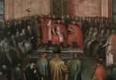 """Na Wawelu zaprezentowano po konserwacji obraz """"Carowie Szujscy przed królem Zygmuntem III w roku 1611"""""""