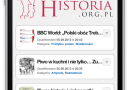 Dedykowana wersja mobilna historia.org.pl