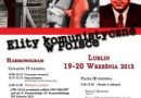 Konferencja: Elity komunistyczne w Polsce, Lublin 19–20 września 2013 r. [program]