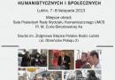 """Międzynarodowa konferencja naukowa """"Historia mówiona w kręgu nauk humanistycznych i społecznych"""""""