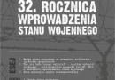 Konkurs 32. rocznica wprowadzenia stanu wojennego