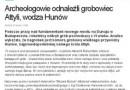 Odnaleziony grób Attyli, czyli jak polskie media nabrały się na zmyślonego newsa