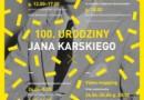 100. urodziny Jana Karskiego w Muzeum Historii Polski