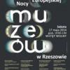 Noc Muzeów w Rzeszowie 2014 [program]