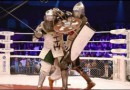 Trening rosyjskich wojowników MMA