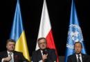 Kontrowersje na Westerplatte. Prezydent Ukrainy w barwach UPA?