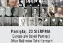 Europejski Dzień Pamięci Ofiar Reżimów Totalitarnych 2016