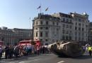 Czołgi w Londynie. 100. rocznica uczestnictwa pierwszego czołgu w bitwie [galeria]