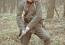 Sylwetka żołnierza Jagdkommando 20. pp Armii Austro-Węgier