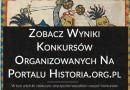 Wyniki konkursów historia.org.pl