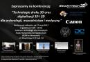 """Konferencja """"Technologie 3D i 2D dla archeologii, muzealnictwa i medycyny"""""""