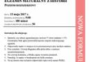 Od upadku republiki rzymskiej po bilans gospodarki II RP - matura z historii 2017