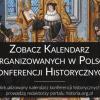 Kalendarz konferencji historycznych 2018 [studenckie, naukowe, międzynarodowe etc.]