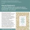 """Promocja książki Macieja Badowicza """"Studium z dziejów wina..."""""""