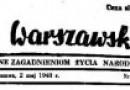 """""""Tygodnik Warszawski"""" – zapomniane czasopismo katolickie czasów tuż powojennych"""