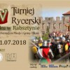 XIV Turniej Rycerski na Zamku Rabsztyn 2018