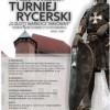 """Międzynarodowy Turniej Rycerski """"O Złoty Warkocz Tarłówny"""" w Dębnie 2018"""