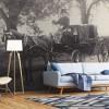Fototapety z dawnymi fotografiami, czyli kawałek historii na Twojej ścianie