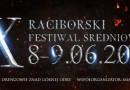 X Raciborski Festiwal Średniowieczny 2019