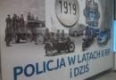 """Wystawa na 100-lecie powstania Policji Państwowej """"Policja w latach II RP i dziś"""" w Muzeum Historycznym Skierniewic"""