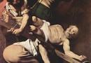 Męczennik. Ukrzyżowanie św. Piotra - głową w dół