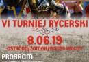 VI Turniej Rycerski w Ostródzie 2019