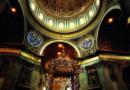 """Spacer ze św. Piotrem po Bazylice Watykańskiej. Ilustracje z książki """"Grób Rybaka"""" autorstwa Pawła Lisickiego."""
