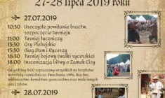 2. Turniej Rycerski pod Zamkiem Cisy 2019