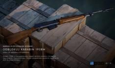 Unikatowy polski karabin samopowtarzalny wz. 38M nową bronią w Battlefield V