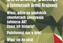 Utrwal pamięć o żołnierzach AK. Akcja społeczna w Gdańsku