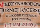 Międzynarodowy Turniej Rycerski w Byczynie 2020