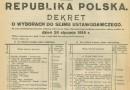 Historia frekwencji wyborczej w Polsce. Rekord wolnych wyborów niepobity od 100 lat