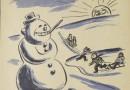 Bałwan. Fenomenem śnieżnej figury i jej historia