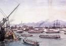 Panika na giełdzie, która w 1857 wywołała pierwszy światowy kryzys gospodarczy