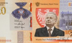 W listopadzie NBP wyemituje banknot kolekcjonerski z Lechem Kaczyńskim