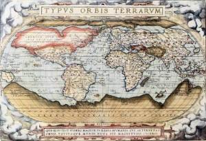 Pierwszy nowoczesny atlas Orteliusa