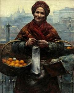 Aleksander Gierymski Pomarańczarka