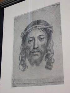 Claude Mellan Głowa Chrystusa ukoronowana cierniem