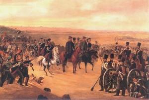 Generałowie Chłopicki i Skrzynecki