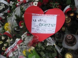 Kraków katastrofa Krzyż katyński 2