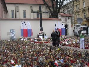 Kraków katastrofa Krzyż katyński