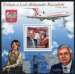 Lech Kaczyński na znaczkach 1