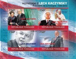 Lech Kaczyński na znaczkach 4