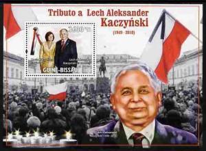 Lech Kaczyński na znaczkach 5