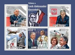 Lech Kaczyński na znaczkach 9